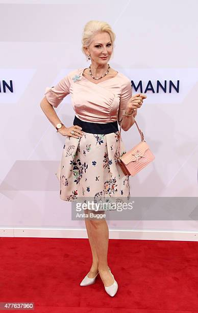 Desiree Nick attends the Bertelsmann Summer Party 2015 at the Bertelsmann representative office on June 18 2015 in Berlin Germany