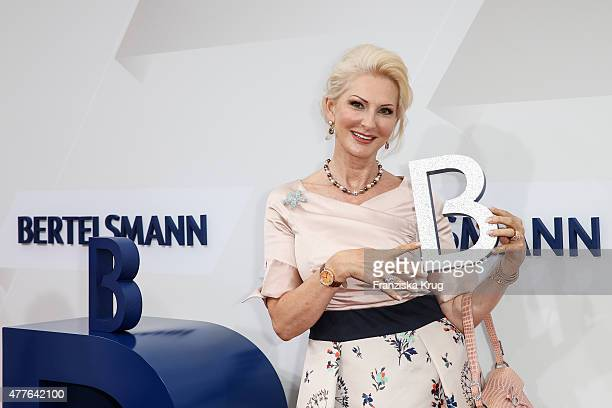 Desiree Nick attends the Bertelsmann Summer Party on June 18 2015 in Berlin Germany