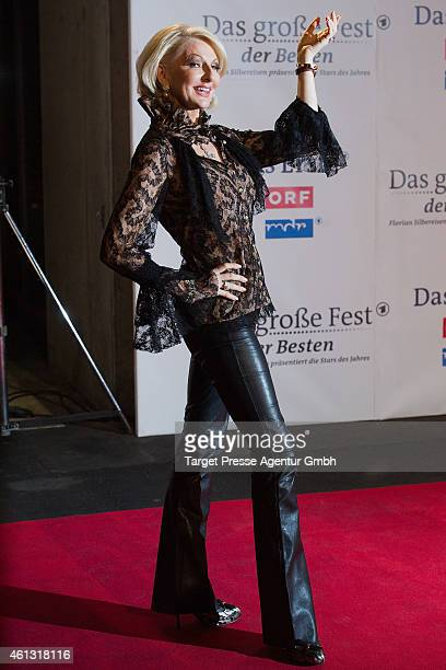 Desiree Nick attends the 'Das grosse Fest der Besten' tv show at Velodrom on January 10 2015 in Berlin Germany