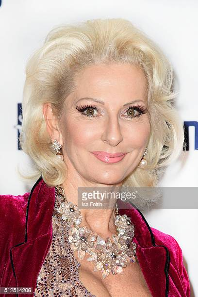Desiree Nick attends the 'Holiday on Ice Passion' Berlin Premiere on February 26 2016 in Berlin Germany