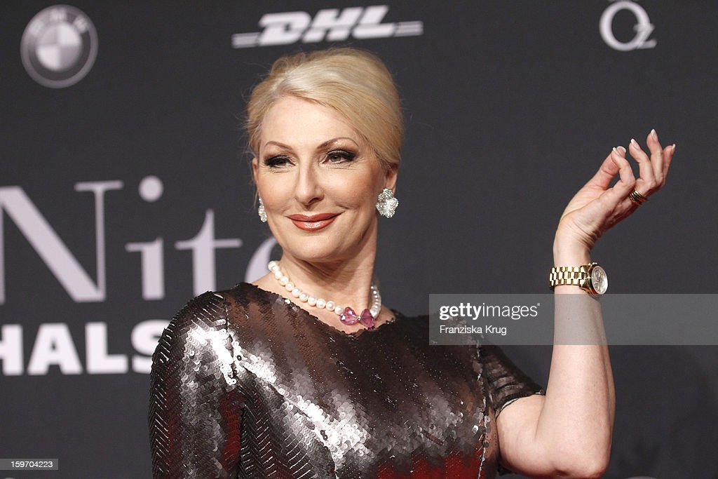 Desiree Nick attends the 'Michalsky Style Nite Arrival - Mercesdes-Benz Fashion Week Autumn/Winter 2013/14' at Tempodrom on January 18, 2013 in Berlin, Germany.