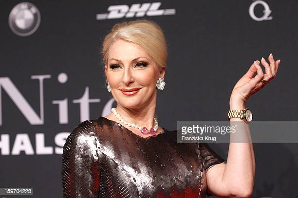Desiree Nick attends the 'Michalsky Style Nite Arrival MercesdesBenz Fashion Week Autumn/Winter 2013/14' at Tempodrom on January 18 2013 in Berlin...