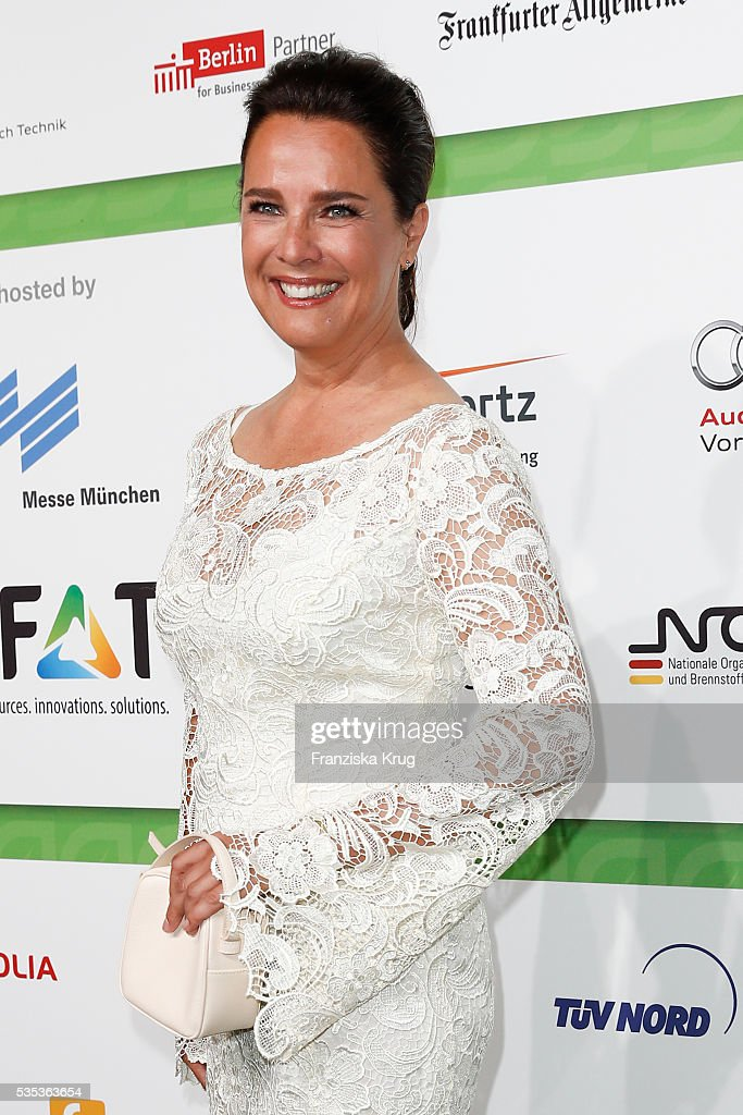 Desiree Nosbusch attends the Green Tec Award at ICM Munich on May 29, 2016 in Munich, Germany.