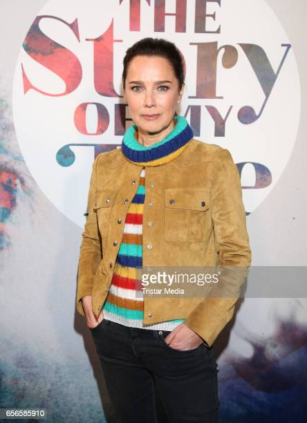 Desiree Nosbusch attends the Photocall To The TV Programm 'The Story Of My Life' at Hamburg East Hotel on March 22 2017 in Berlin Germany