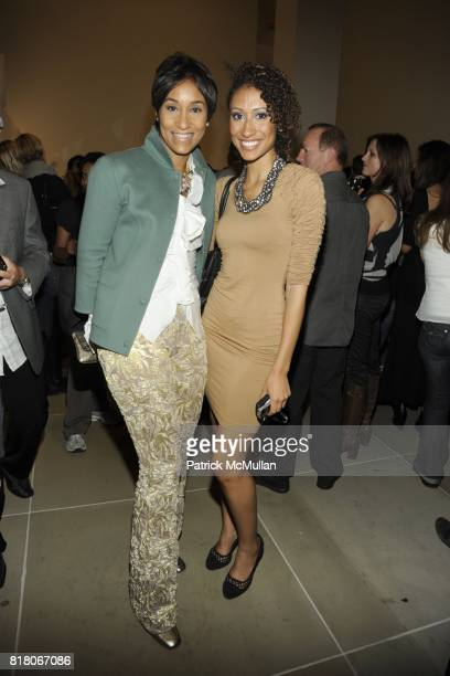 Desiree Rogers Elaine Welteroth attend CALVIN KLEIN COLLECTION Celebrates Fashion's Night Out 2011 with BRYAN ADAMS at Calvin Klein on September 10...