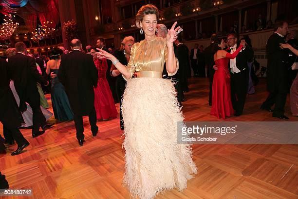 Desiree Treichl Stuergkh during the Opera Ball Vienna 2016 at Vienna State Opera on February 4 2016 in Vienna Austria