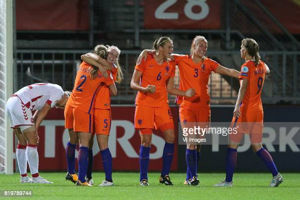 Desiree van Lunteren of Holland Women Kika van Es of Holland Women Anouk Dekker of Holland Women Stefanie van der Gragt of Holland Women Vivianne...