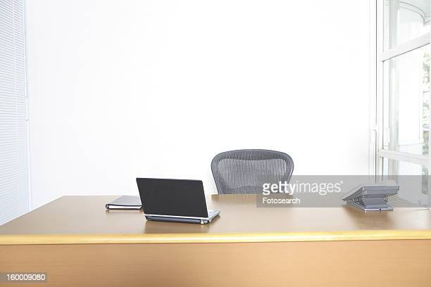Desk of chief executive officer