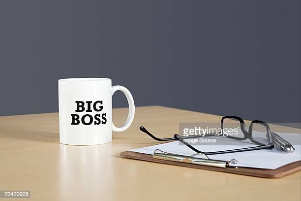 Desk of the boss