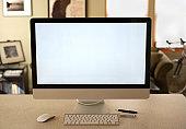 Desktop computer in a home environment