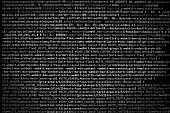 Desktop source code and technology background, Developer or programer with coding and programming, Wallpaper by Computer language and source code, Computer virus and Malware attack.