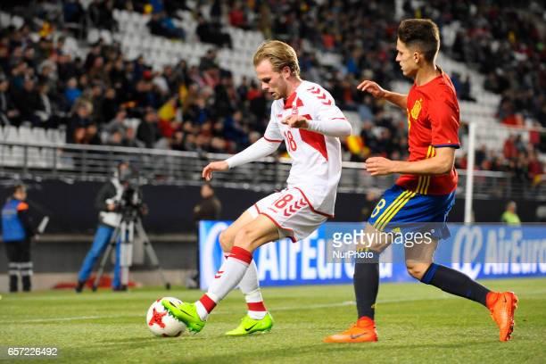 Desler Denis Suarez during the friendly match of national teams U21 of Spain vs Denmark in stadium Nueva Condomina Murcia SPAIN March 23rd 2017