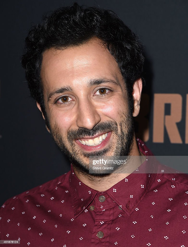 Desmin Borges arrives at the FX's 'The Bridge' Season 2 Premiere at Pacific Design Center on July 7, 2014 in West Hollywood, California.