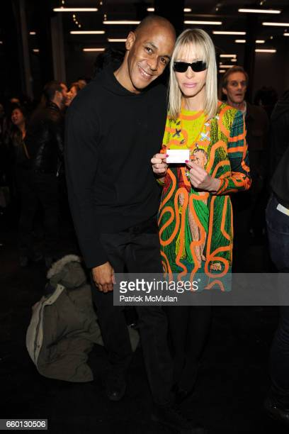 Desmond Cadogan and Teri Toye attend ROGER PADILHA MAURICIO PADILHA Celebrate Their Rizzoli Publication THE STEPHEN SPROUSE BOOK Hosted by DEBBIE...