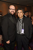 Desmond Child and Steve Leeds attend Songwriters Hall of Fame 45th Annual Induction And Awards at Marriott Marquis Theater on June 12 2014 in New...
