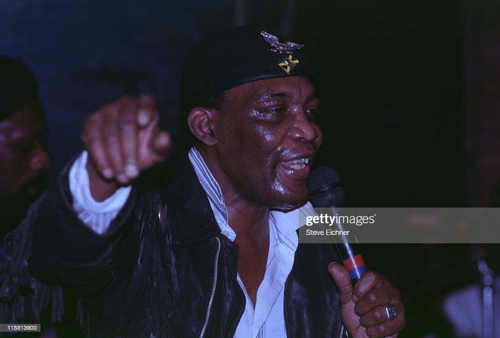 Desmond Dekker in Concert at Wetlands - 1992