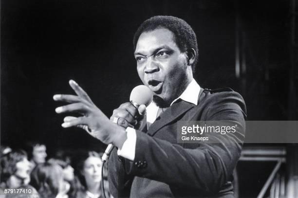 Desmond Dekker performing on Hitring Plage Blankenberge Belgium 21st August 1981