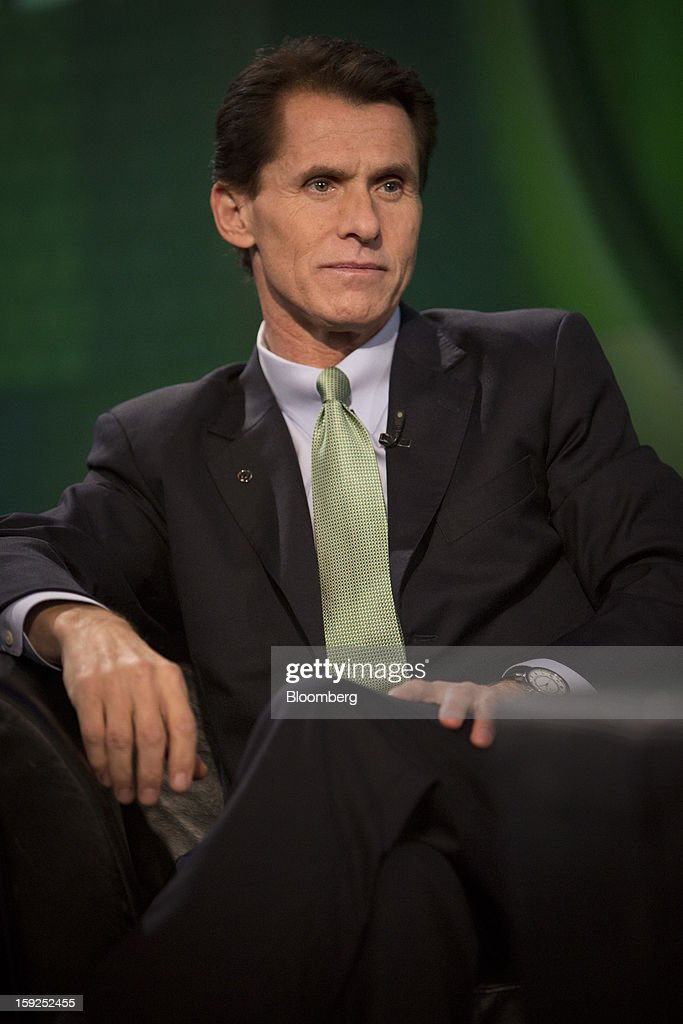 Desmond 'Des' Walsh, president of Herbalife Ltd., listens during a Bloomberg Television interview in New York, U.S., on Thursday, Jan. 10, 2013. Timothy Ramey, an analyst at D.A. Davidson & Co., said that Herbalife Ltd. has a legal corporate structure, rejecting hedge-fund manager Bill Ackman's theory that the direct-selling company operates as a pyramid scheme. Photographer: Scott Eells/Bloomberg via Getty Images