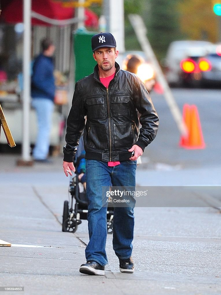Desmond Harrington sighted at Streets of Manhattan on November 14, 2012 in New York City.