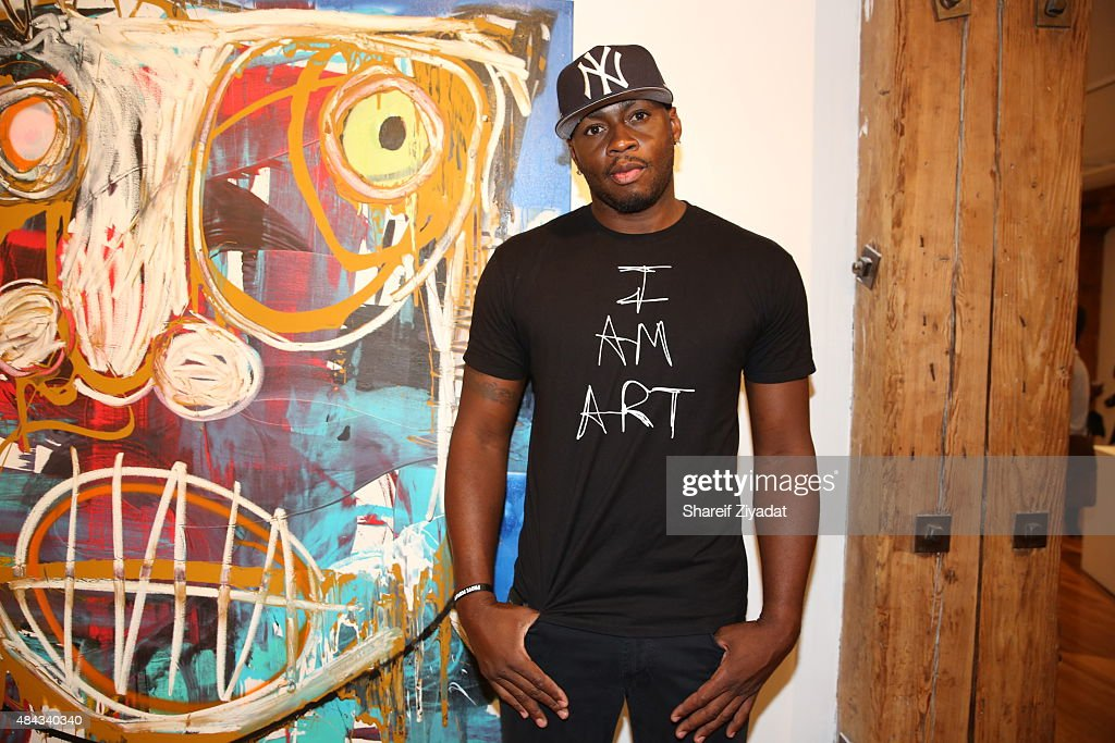 <a gi-track='captionPersonalityLinkClicked' href=/galleries/search?phrase=Desmond+Mason&family=editorial&specificpeople=201810 ng-click='$event.stopPropagation()'>Desmond Mason</a> at Joseph Gross Gallery on August 15, 2015 in New York City.