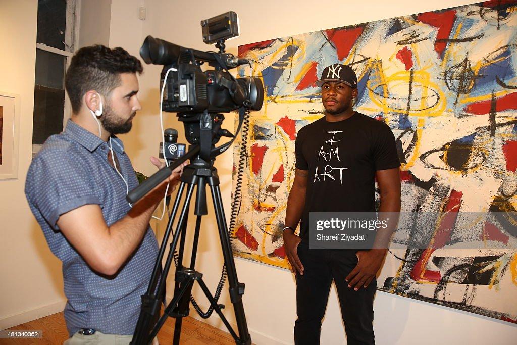 Desmond Mason at Joseph Gross Gallery on August 15 2015 in New York City