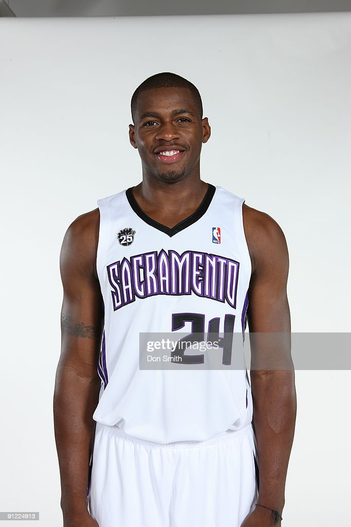 Desmond Mason of the Sacramento Kings poses for a portrait during 2009 NBA Media Day on September 28 2009 at the Practice Facility in Sacramento...