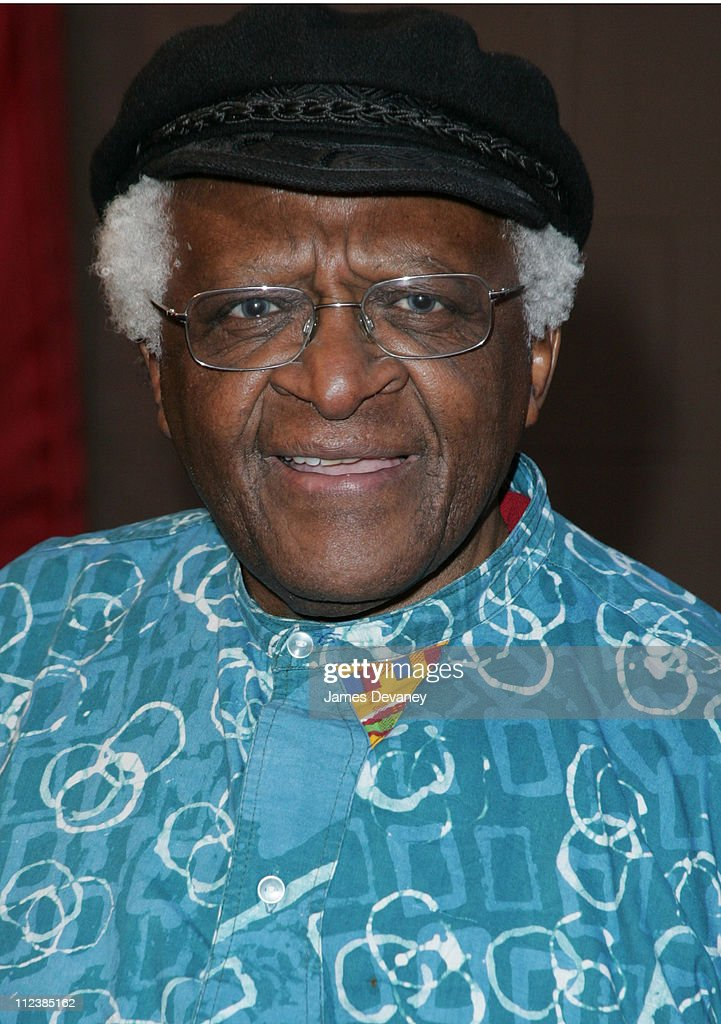 <a gi-track='captionPersonalityLinkClicked' href=/galleries/search?phrase=Desmond+Tutu&family=editorial&specificpeople=214730 ng-click='$event.stopPropagation()'>Desmond Tutu</a> during 3rd Annual Tribeca Film Festival - 'Cry The Beloved Country' Premiere at Tribeca Performing Arts Center in New York City, New York, United States.