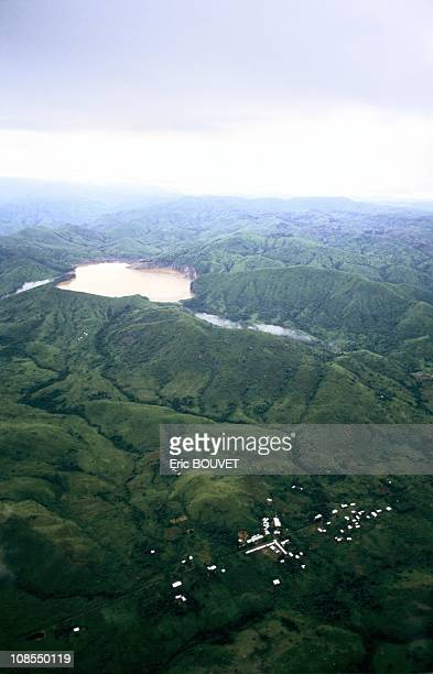 Desolation around lake Nyos in Cameroon on August 01st 1986