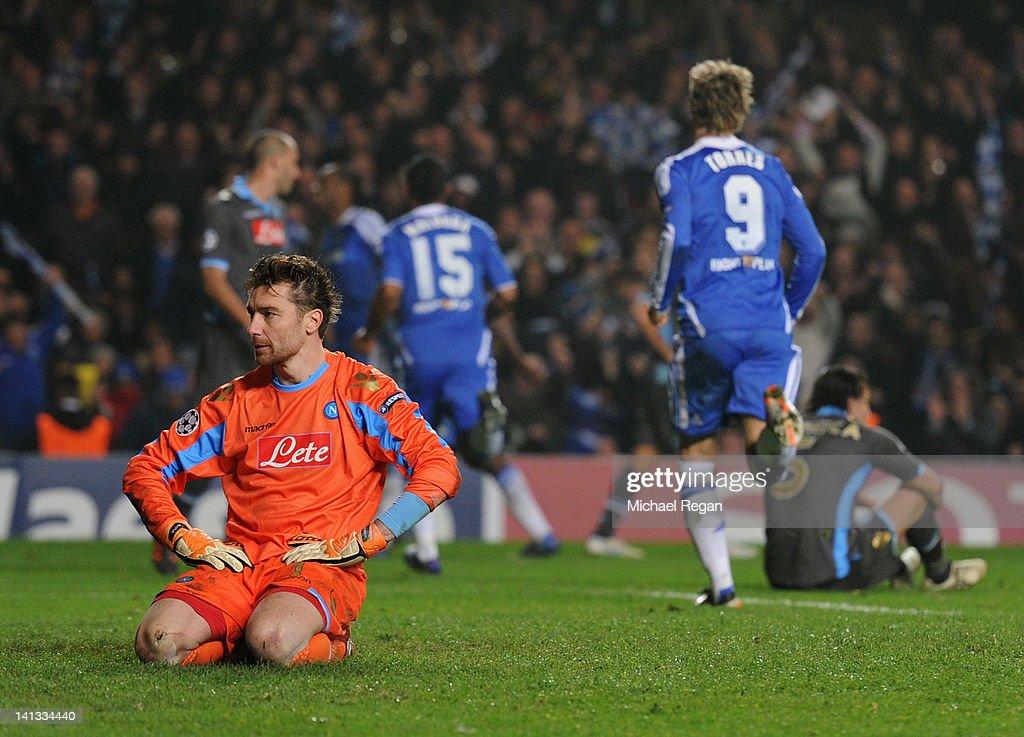 Chelsea FC v SSC Napoli - UEFA Champions League Round of 16