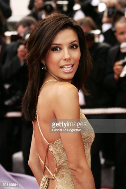 Desperate Housewives costar Eva Longoria attends a screening of 'Where the Truth Lies' at the Grand Theatre during the 58th International Cannes Film...