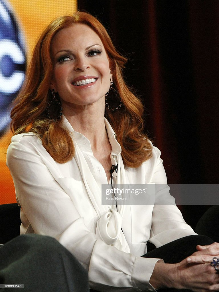 TOUR 2012 - 'Desperate Housewives' Session - The cast and producers of ABC's 'Desperate Housewives' addressed the press at Disney/ABC Television Group's Winter Press Tour 2012. CROSS
