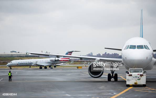 Despite earlier delays prompted by a storm that brought heavy rain wind and snow to some parts of the North East flights are on time on Thanksgiving...