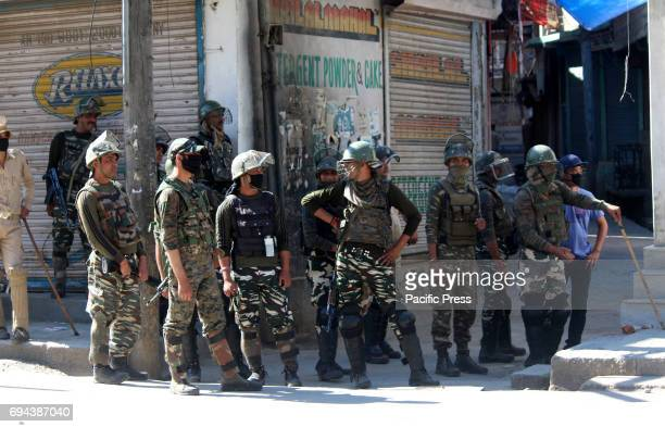 Despite fasting clashes erupted between security forces and Protesters after Friday prayers at Lal chowk area of Anantnag district some 60kms From...