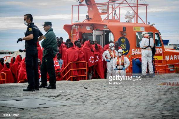 Despite of the bad weather conditions of the last days migrants from the African continent keep on risking their lives to cross the Mediterranean sea...