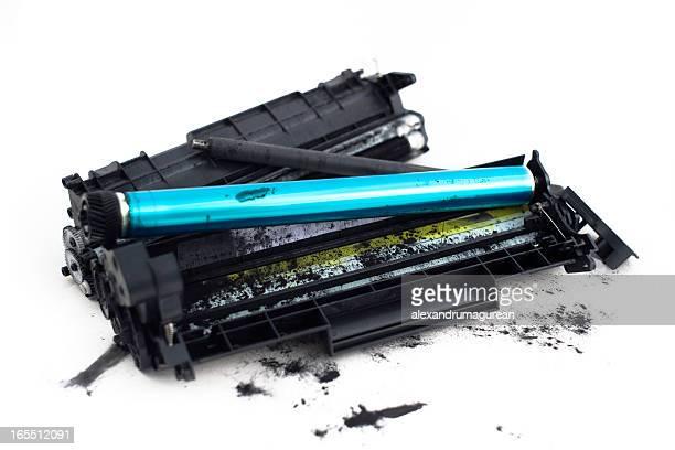 Dessambled Cartidges Imprimante-Toner