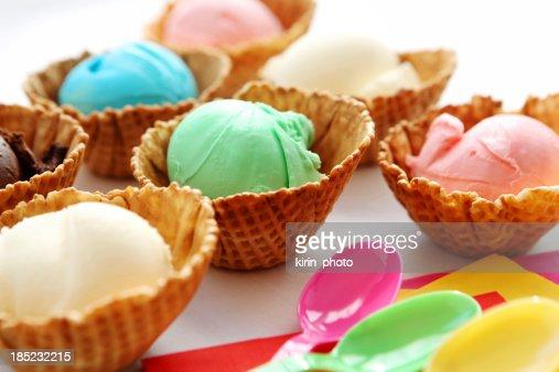 dessert - ice cream
