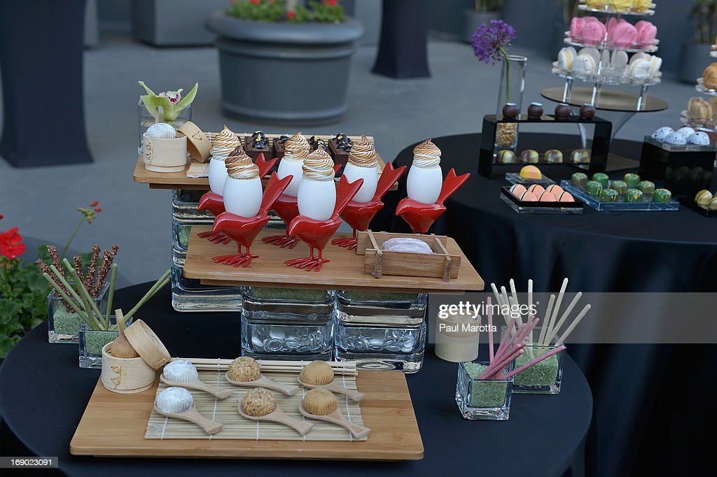 Desserts at the Rooftop @ Revere Launch Party at The Revere Hotel on May 18, 2013 in Boston, Massachusetts.