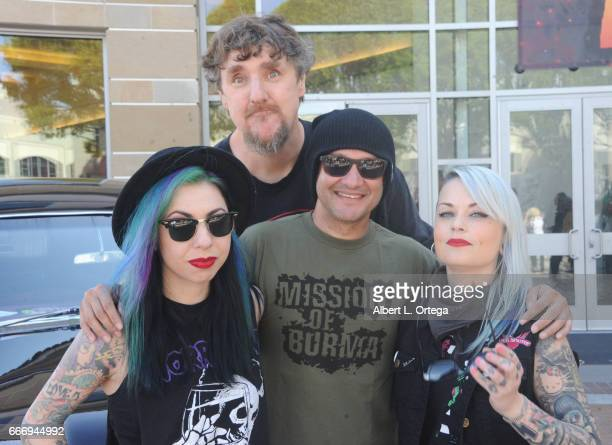 Destiny Pat Jankiewicz Neil D'Monte and MJ on day 2 of the 2017 Monsterpalooza held at Pasadena Convention Center on April 9 2017 in Pasadena...