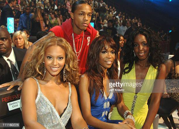 Destiny's Child and Bow Wow during 2005 MTV Video Music Awards Audience and Backstage at American Airlines Arena in Miami Florida United States