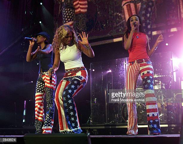 Destiny's Child at United We Stand What More Can I Give Concert A music benefit in support of the recovery efforts from the September 11 attack on...