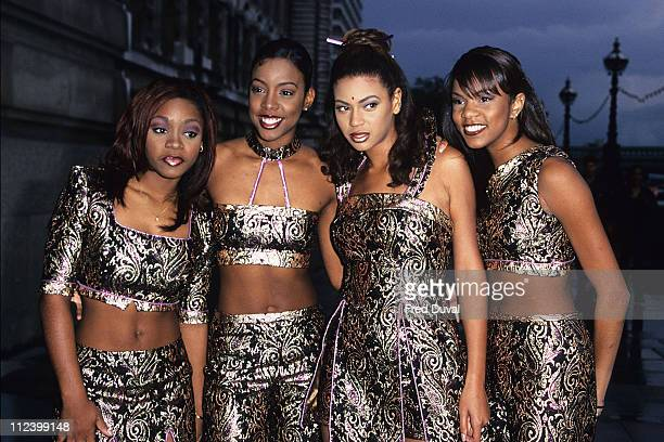 Destiny's Child featuring Beyonce Knowles during Maxwell Album launch at The London Aquarium in London United Kingdom