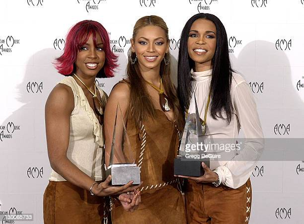 Destiny's Child in the press room at the 29th Annual American Music Awards