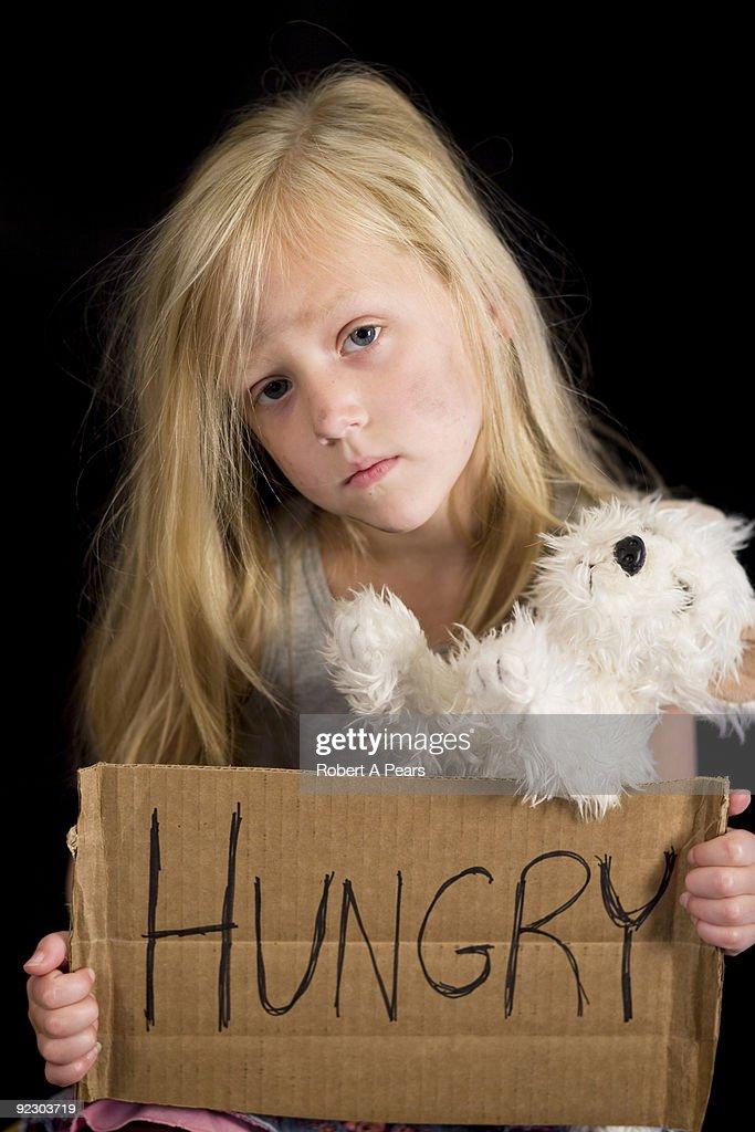 Destitute Child : Stock Photo