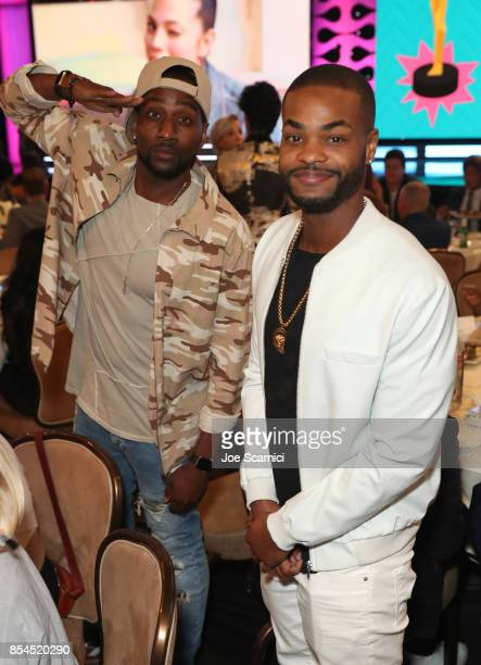 DeStorm Power and King Bach at the 2017 Streamy Awards at The Beverly Hilton Hotel on September 26 2017 in Beverly Hills California