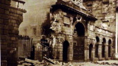Destruction at the the Four Courts during The Easter Rising also known as the Easter Rebellion was an armed insurrection staged in Ireland during...