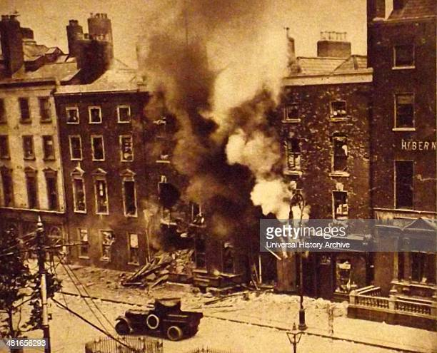 Destruction during The Easter Rising also known as the Easter Rebellion was an insurrection staged in Ireland during Easter Week 1916 The Rising was...