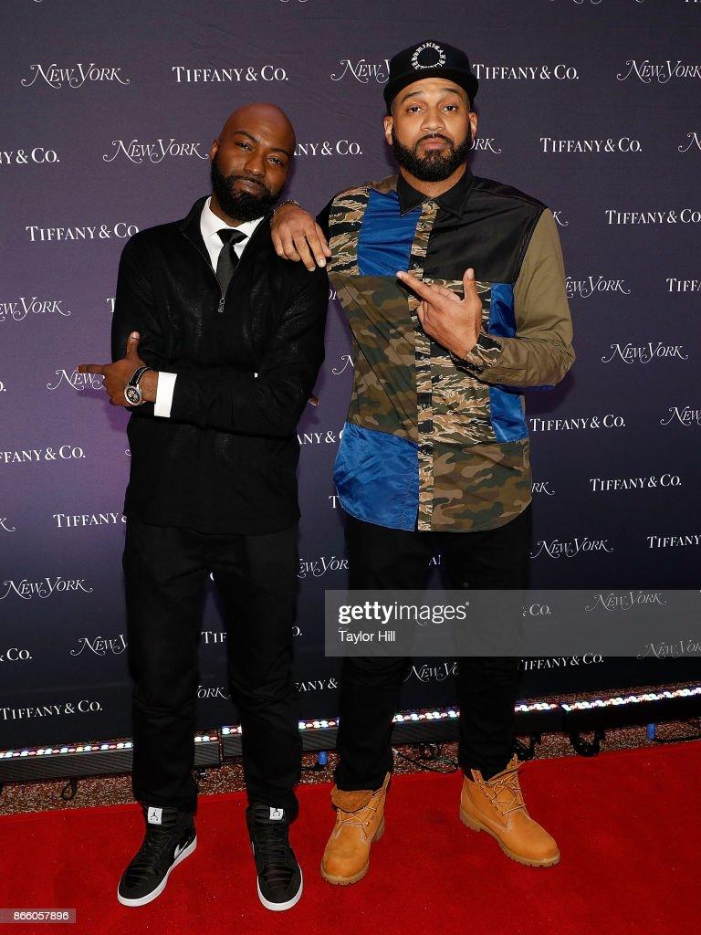 Desus & Mero attend New York Magazine's 50th Anniversary Celebration at Katz's Delicatessen on October 24, 2017 in New York City.