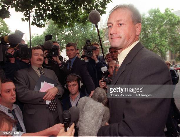 Det Supt Andy Sellers of the Metropolitan Police's organised crime group outside Middlesex Guildhall Crown Court after the jury delivered its verdict...