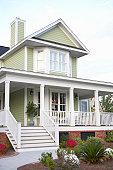 Detached house exterior