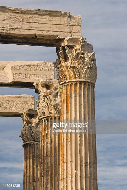 Detail from temple of Olympian Zeus